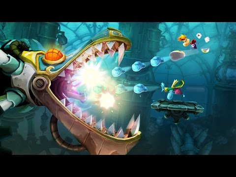 Rayman Legends - Castle in Clouds COOP Toad Story [No Commentary Gameplay]