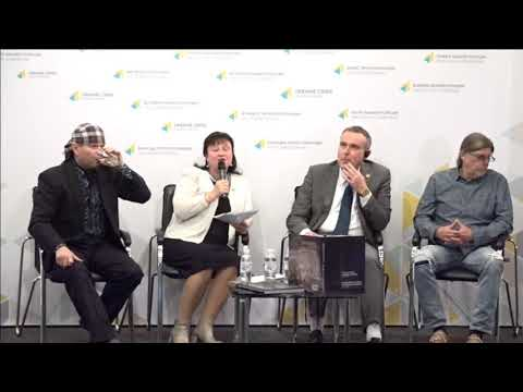 Presentation of Valentyna Lazebnyk's book 'Steel in the steppe. View from Ukraine'. UCMC 15.11.2017