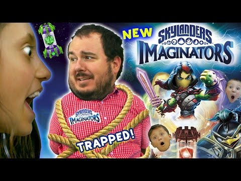 KIDS DEMAND SKYLANDERS IMAGINATORS! Kidnapping Hostage Situation! (Gameplay Reveal Trailer Skit) 4k