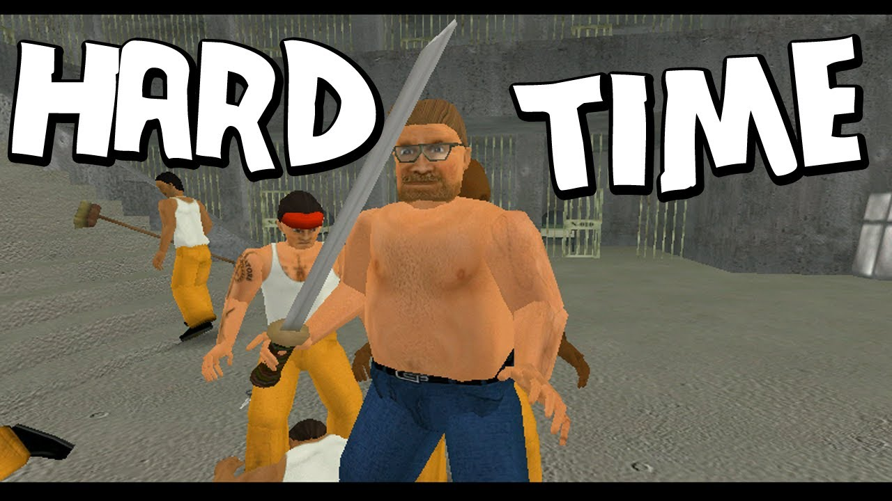Free Games - Hard Time Gameplay A Prison Simulator -8989
