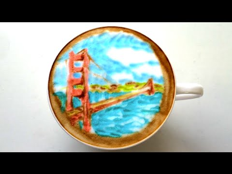 Travel Inspired Latte Art | Find Your Happy