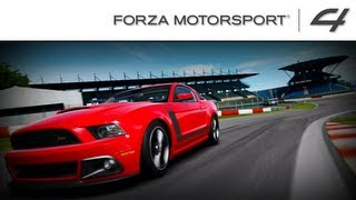 Forza 4 1080p 2013 Ford Mustang Boss 302 A Class