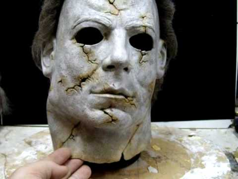 michael myers halloween mask replica h9 rotted version youtube - Rob Zombie Halloween Mask For Sale