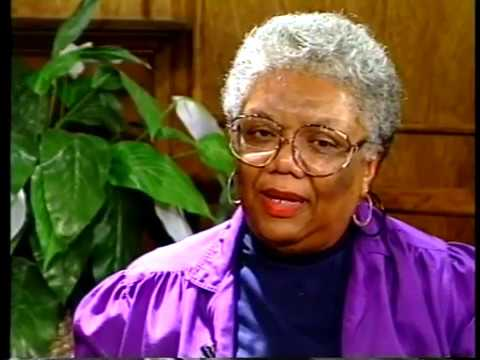 """Lucille Clifton talks of her books of poems, including """"Good Times"""""""
