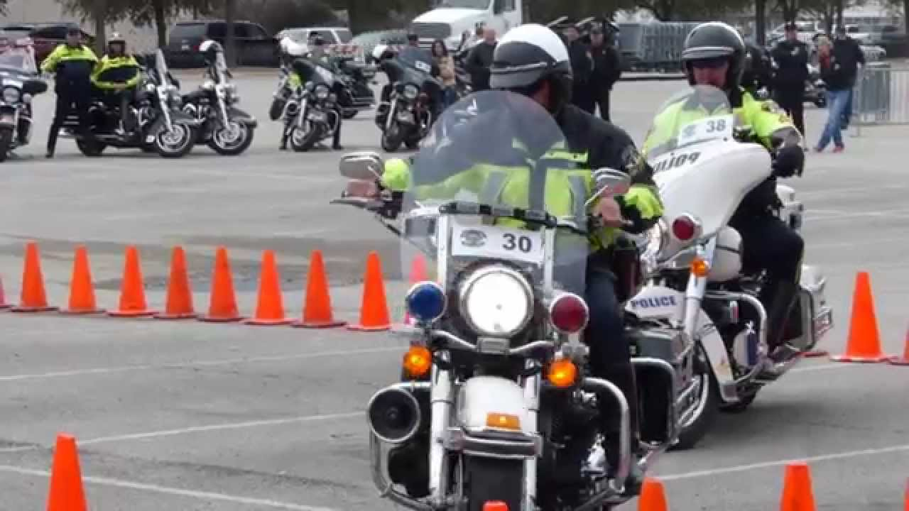 2014 Coppell Grapevine Police Motorcycle Rodeo Head To