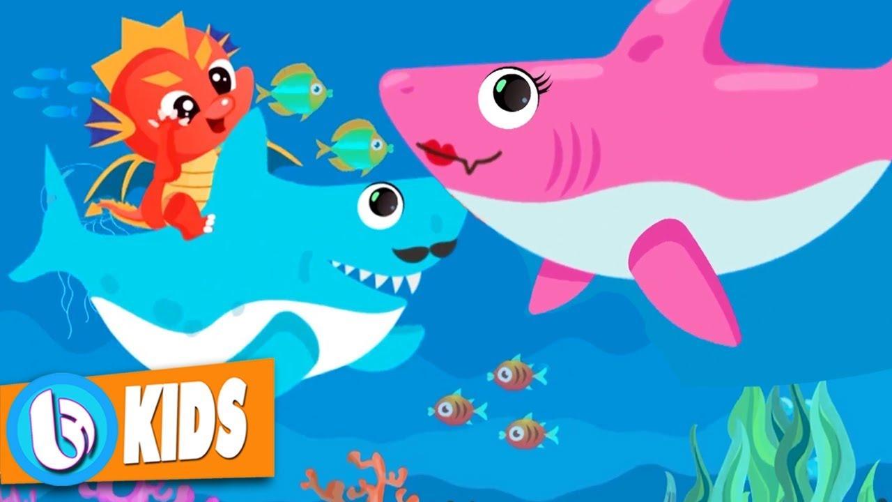 20 Bài Hát Tiếng Anh Trẻ Em Yêu Thích Nhất - Baby Shark Nursery Rhyme