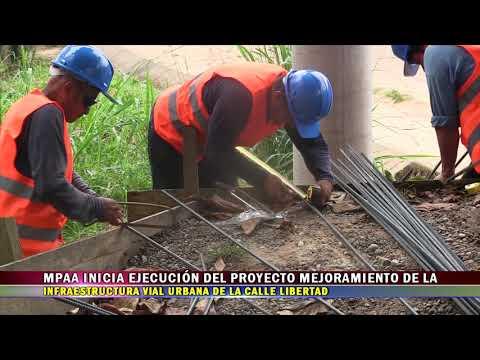 MPAA INICIA EJECUCIÓN DEL PROYECTO MEJORAMIENTO DE LA INFRAESTRUCTURA VIAL URBANA DE LA CALLE LIBERT