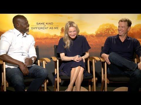 Renee Zellweger, Greg Kinnear & Djimon Hounsou