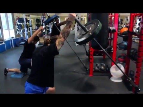 ProMAXima Fitness Equipment - Football Installs