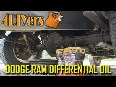 How to Replace the Rear Differential Oil in a Dodge Ram 1500