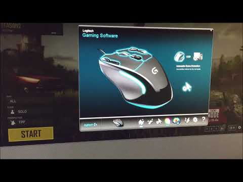 Logitech - G300S Wired Optical 9-Button Gaming Mouse With RGB Lighting