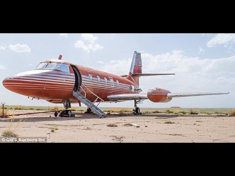 Elvis lockheed jetstar (last private jet) is auctioned off for just $430,000 | Elvis Presley's jet