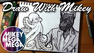 What Music Do You Listen To When Drawing? - Draw With Mikey 13