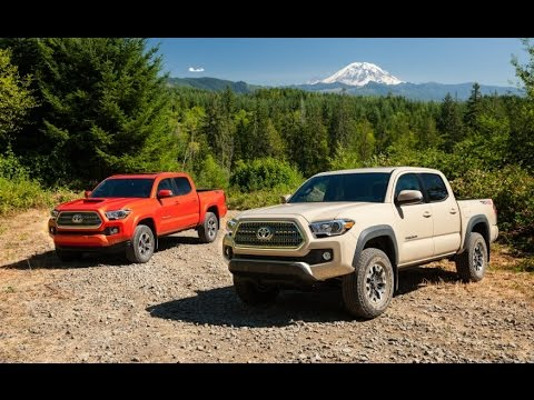 2016 Toyota Ta a TRD f Road 4x4 Review Rendered Price