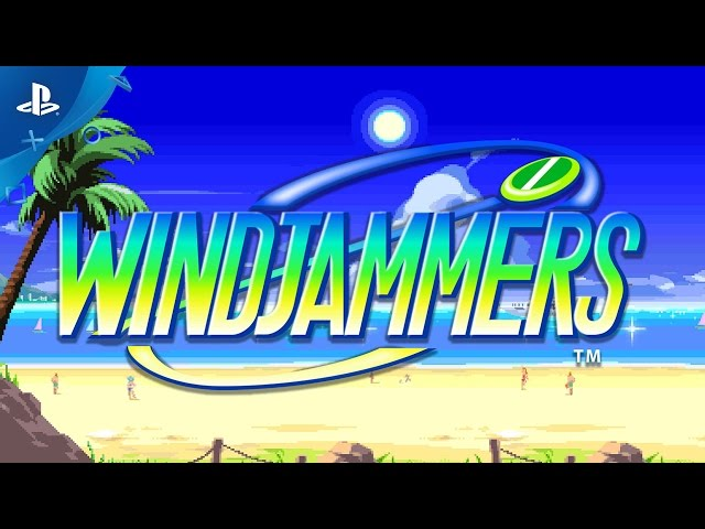 Windjammers - PlayStation Experience 2016: Announcement trailer | PS4,PS Vita