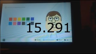 peter griffin mii speedrun in 15.291 (OUTDATED WR)