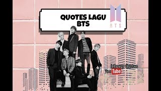 BTS - QUOTES FULL VERSION