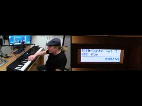Casio Privia PX-350 SoundBank 6 Demo - GM Tones (Percussion)