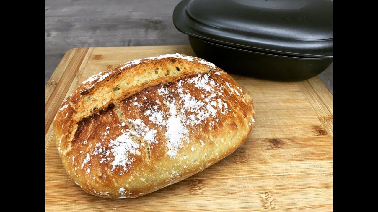 Super knuspriges Brot backen im Ultra von Tupperware, no knead bread, Brot  ohne kneten, ultraplus