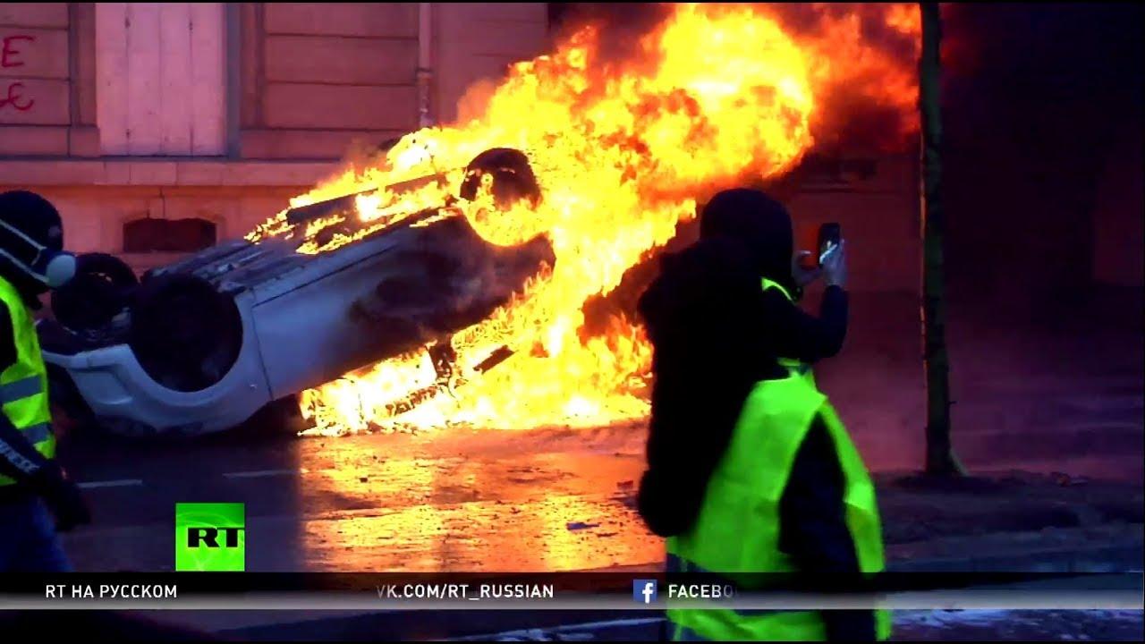 Журналист RT France рассказал о своём ранении в ходе протестов в Париже