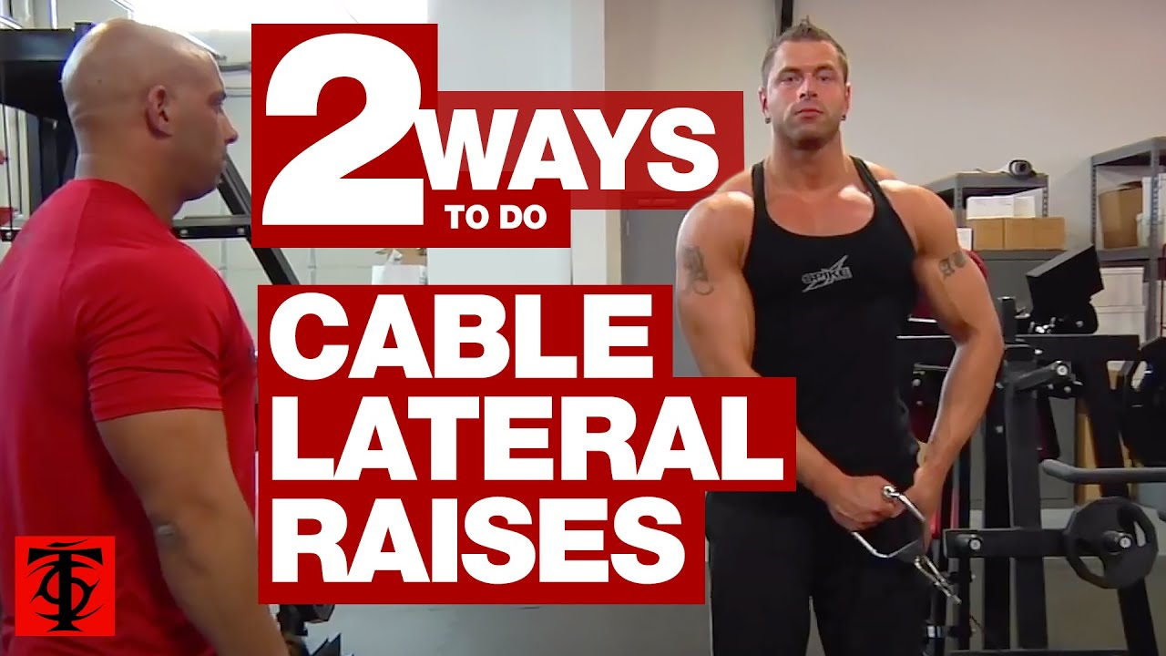 Cable Lateral Raise Youtube
