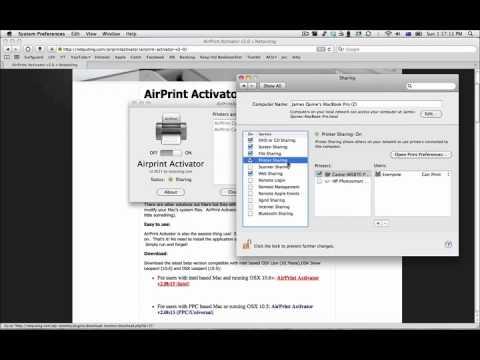 install airprint activator on ipad