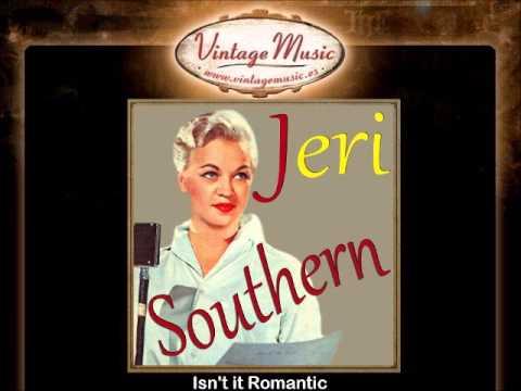 Jeri Southern -- Isn't it Romantic