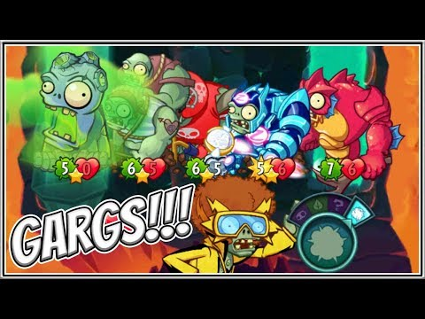 Triassic ConTROLL Boogaloo - Leads Gargantuar Mania! Plants vs Zombies Heroes Gameplay
