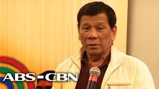 Duterte blasts Trillanes anew: 'Wala kang hiya' | ANC