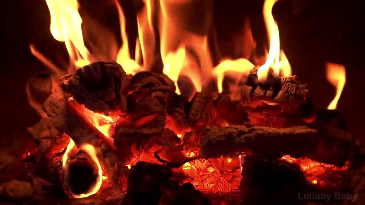 ✰ 8 HOURS ✰ Best Fireplace HD 720p video ✰ Relaxing fireplace ...
