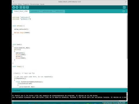 Descomponer un proyecto Arduino en varios ficheros