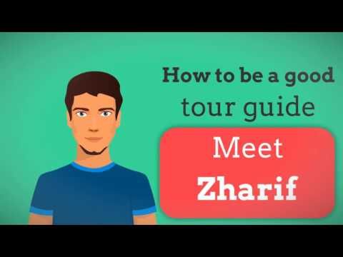 EMCC0077 - HOW TO BE A GOOD TOURIST GUIDE