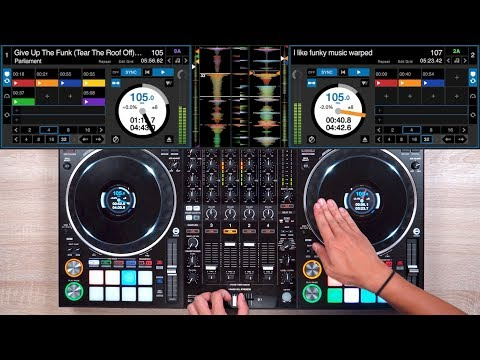 PRO DJ SHOWS YOU HOW TO MIX FUNK - Fast and Creative DJ Mixing Ideas