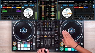 Pro Dj Brings The Funk With The Ddj-1000 Srt - Fast And Creative Dj Mixing Ideas
