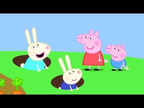 Peppa Pig Nederlands Compilatie Nieuwe Afleveringen | Kelly Konijn | Tekenfilm | Peppa de Big