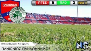 Live Streaming (Audio)  Ποδόσφαιρο Πανιώνιος-Παναθηναϊκός Γήπεδο Νέας Σμύρνης