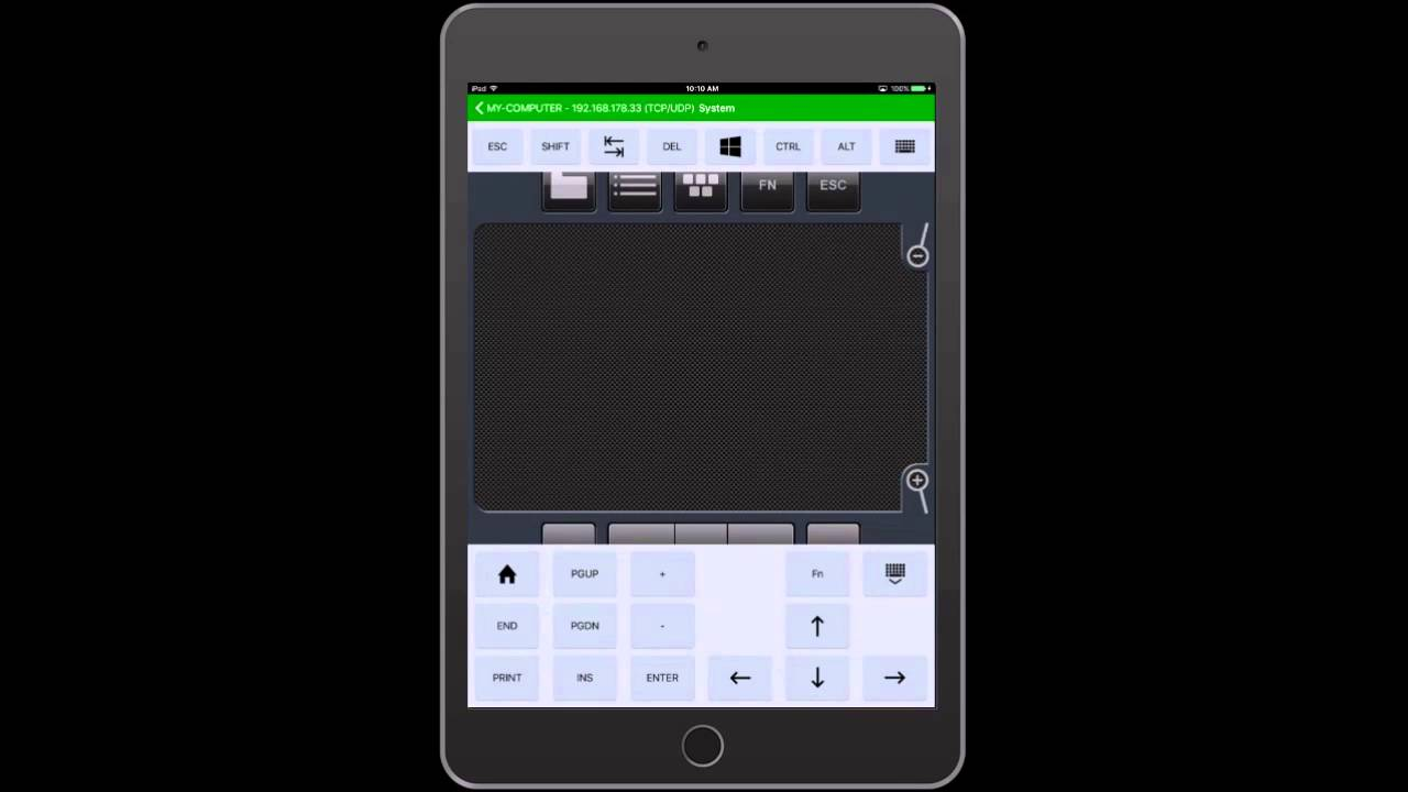 Vectir PC Remote Control for iOS - Demo Video on iPad