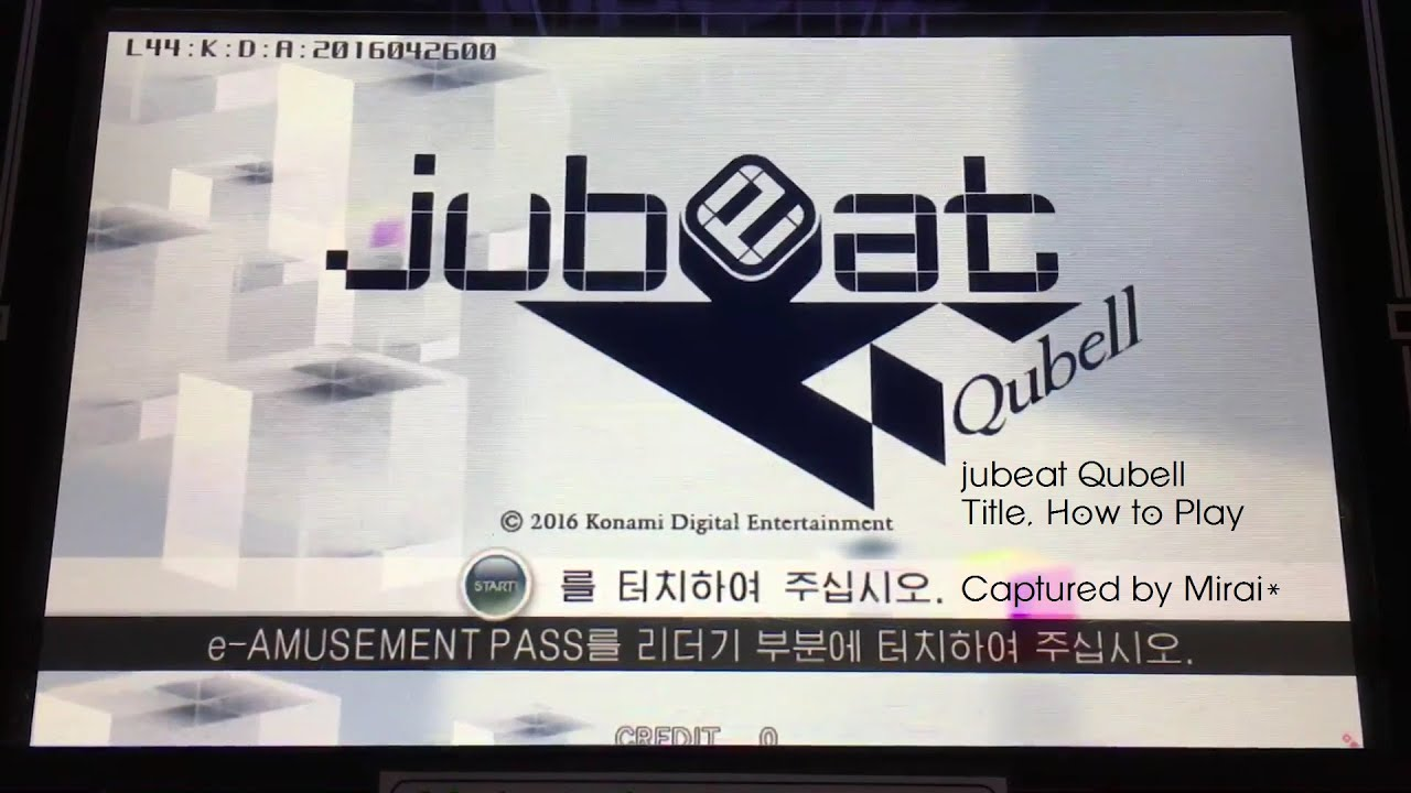 [jubeat Qubell] Title, How to Play