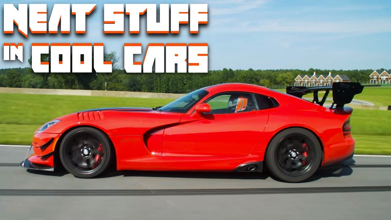 How The 2016 Dodge Viper Acr Works Neat Stuff In Cool Cars