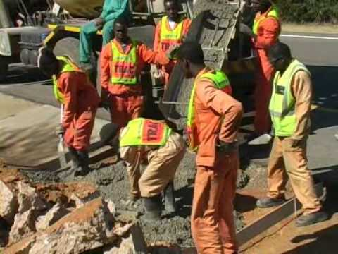 Trac N4 Road Construction - Africa Travel Channel