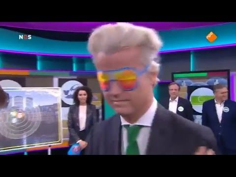 Jeugdjournaaldebat 2017 met o.a. Wilders en Rutte