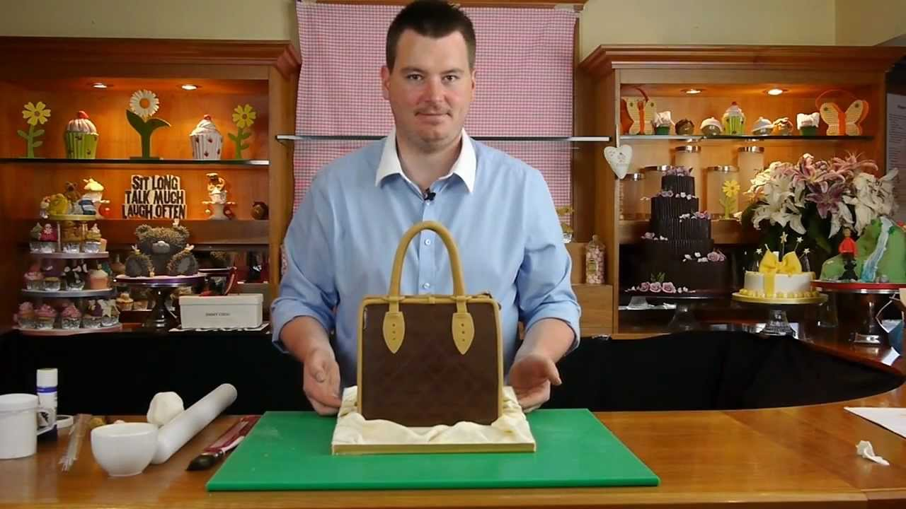 80f60861b4d Handbag Cake Preview - Cake Decorating with Paul Bradford - YouTube