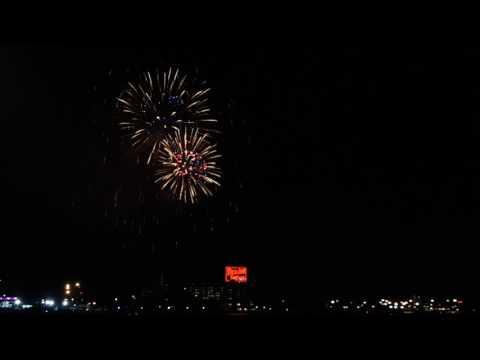 2017 Baltimore Fourth of July fireworks Inner Harbor