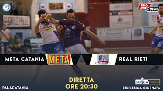 Serie A PlanetWin 365 Futsal | Meta Catania  - Real Rieti