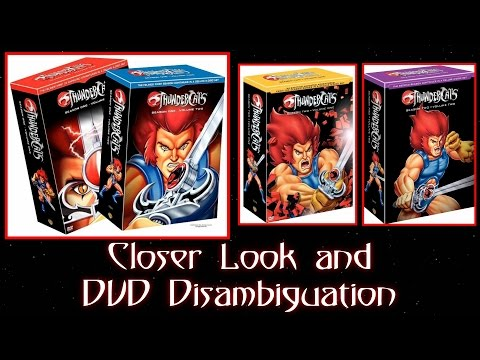 Thundercats Complete DVD Set Closer Look & Disambiguation