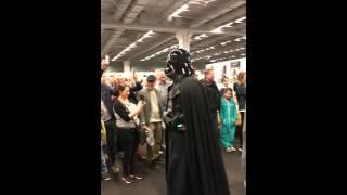 Star Wars parad SciFi mässan Göteborg 2016
