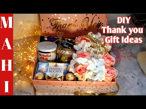 Best DIY Thank You Gift Ideas| Roses and Chocolate Box| Brilliant Last Minute Gift Ideas| Gift Ideas