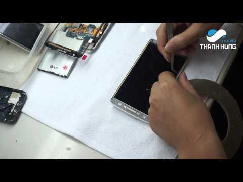 Hướng dẫn thay Mặt Kính Cảm Ứng, Màn Hình LG GX F310
