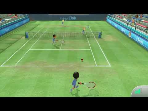 Wii Sports Club: Online Tennis Match (04/15/18) VS rich
