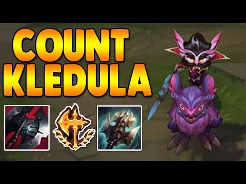 NEW Count Kledula Top!!! - League of Legends - Full Gameplay Commentary